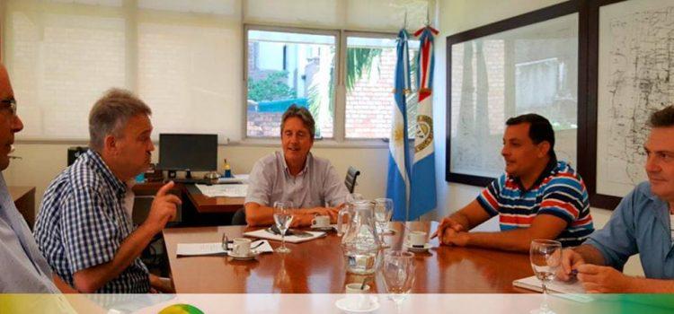 Reunión con el Ministro de Infraestructura