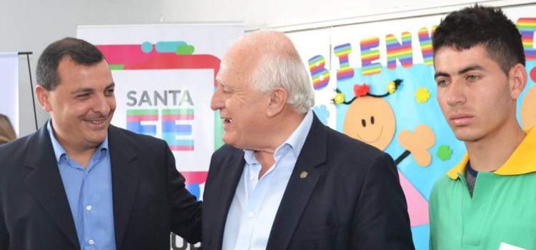 Visita del gobernador Miguel Lifschitz